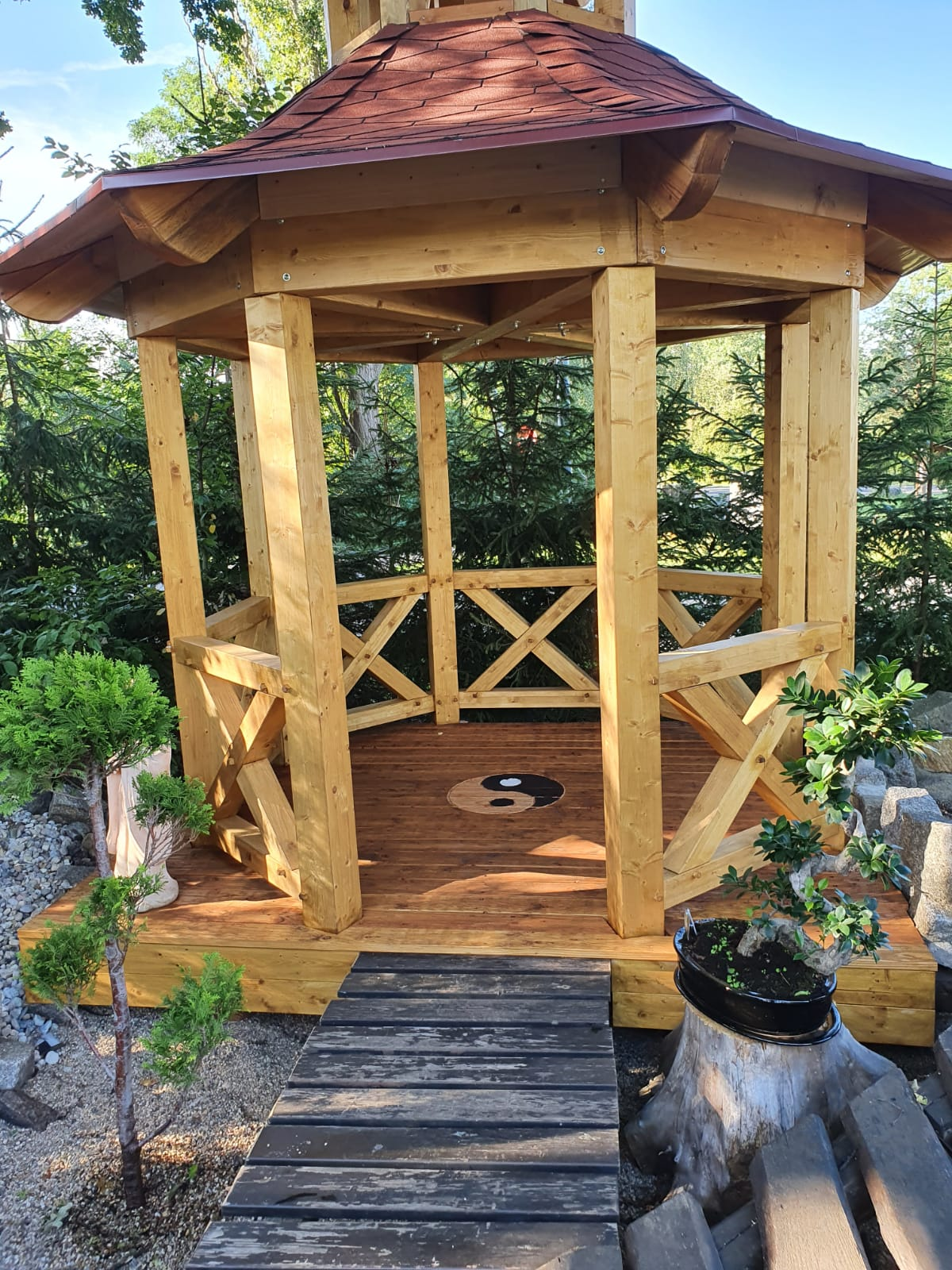 Pavillon chinesischer Garten